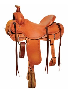 18 inch ranch saddle by Circle Y
