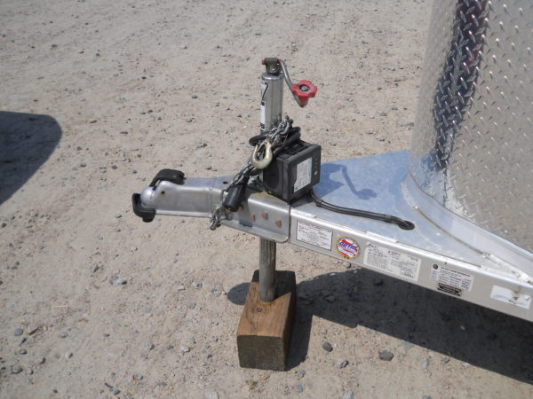 The bumper pull horse trailer hitch