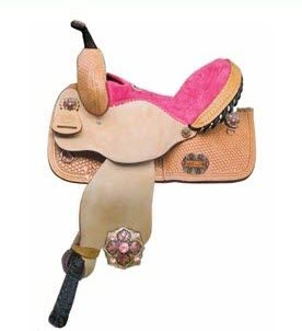 Youth saddles - Alamo kid's pleasure or barrel saddle