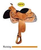 Big Horn reining saddles
