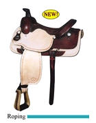 Big Horn roping saddle