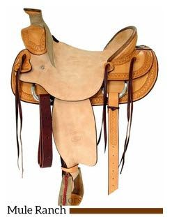 Billy Cook Mule Ranch Saddles