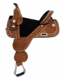 Circle Y Treeless Barrel Saddle for Sale