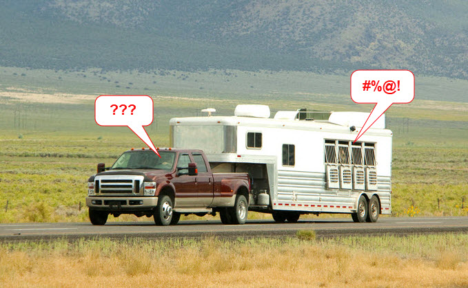 A horse trailer monitoring system helps keep your eyes on precious cargo!