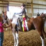Saddleseat youth competitor Championship