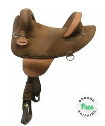 "14"" Used Bob Marshall Treeless Endurance Saddle"